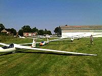Segelflugzeuge in Kammermark