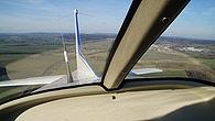 Cessna 150 Ausblick