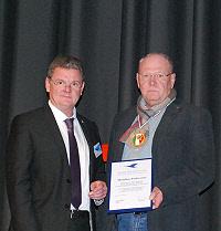 Auszeichnung für Matthias Podworny