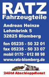 RATZ-Fahrzeugteile
